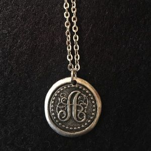 Jewelry - Silver Initial Necklace